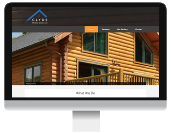 clyde homes website