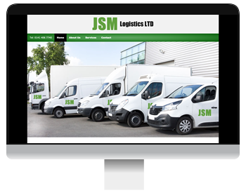 JSM Logistics Glasgow screenshot