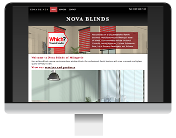 nova blinds scrrenshot